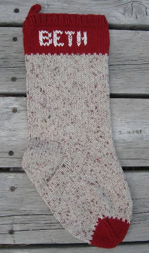 personal name stocking, christmas stocking, name stocking