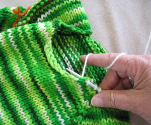 Knitting Picking Up Stitches For Neckband : Knitting Basics Knitting Pure And Simple