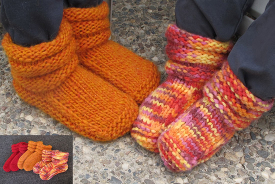 Free Crochet Patterns For Childrens Slipper Boots : # 113 Children s Mukluk Slippers Knitting Pure And Simple