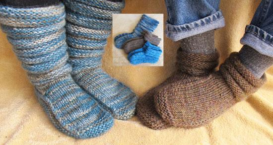 Knitting Pattern Mukluks Free : # 116 Mukluk Slipper Knitting Pure And Simple