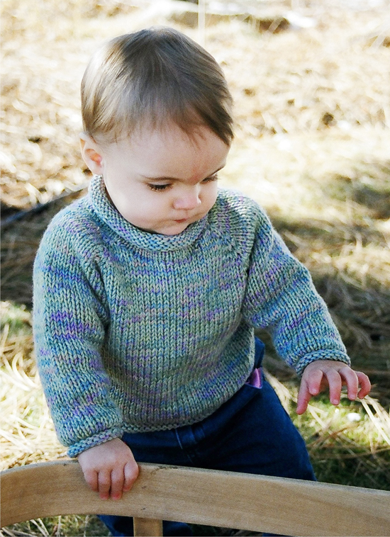 Free Knitting Patterns For Children s Pullovers : # 214 Baby Pullover Knitting Pure And Simple