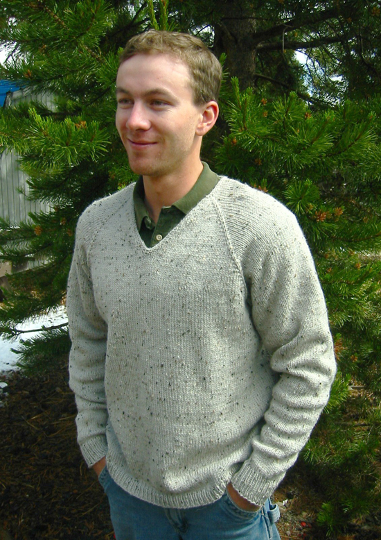 247 V Neck Down Pullover For Men Knitting Pure And Simple