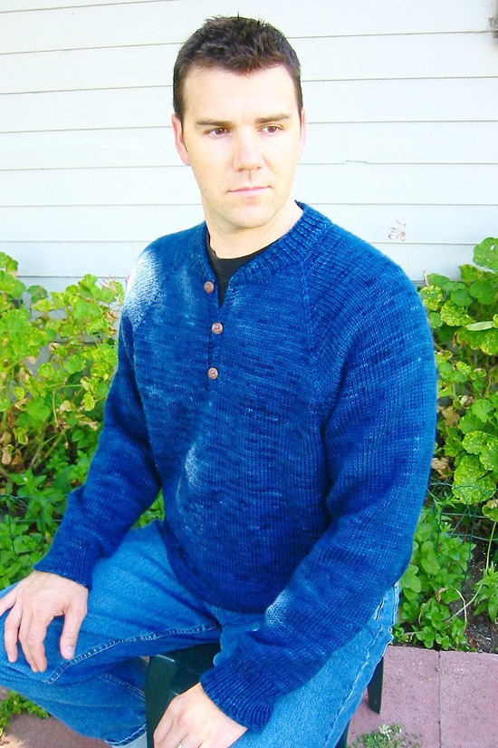 255 Henley Neck Down Pullover For Men Knitting Pure And Simple