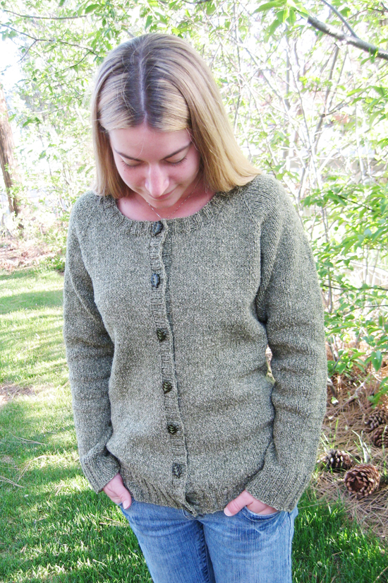 # 278 Neck Down Scoop Neck Cardigan Knitting Pure And Simple