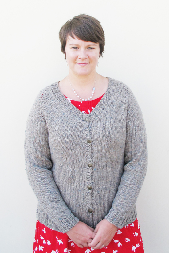 Knitting Patterns For Larger Ladies : # 287 Plus Size Neck Down Cardigan for Women Knitting Pure And Simple