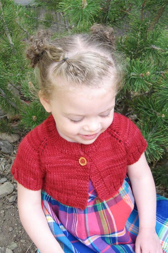 # 288 Little Girl's Shrug