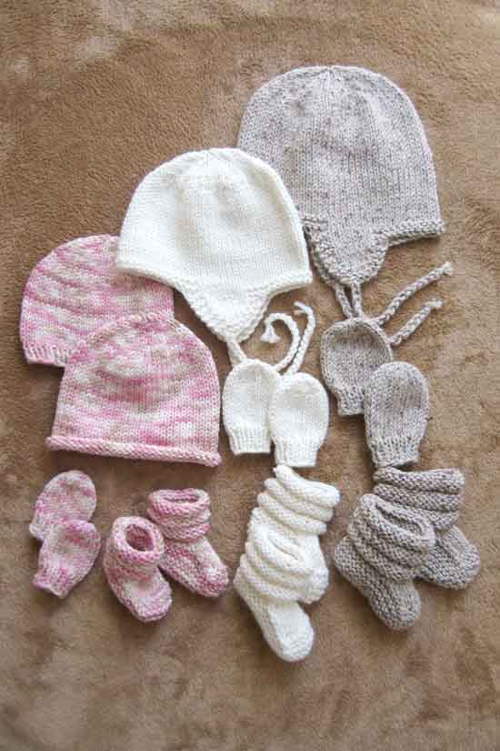 # 2910 Baby Hats, Mitts and Booties Knitting Pure And Simple