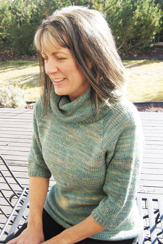 291 Neck Down Cowl Collar Pullover Knitting Pure And Simple