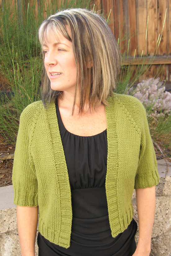 Free Knitting Pattern For Cardigan : # 294 Summer Open Cardigan Knitting Pure And Simple