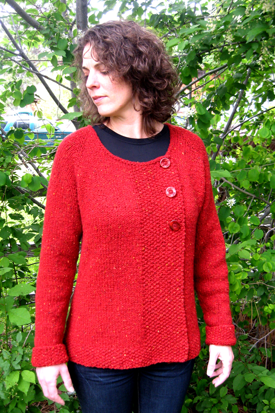 299 Bulky Asymmetric Cardigan Knitting Pure And Simple