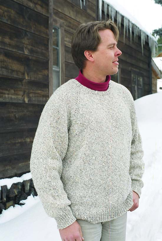 991 Neck Down Pullover For Men Knitting Pure And Simple