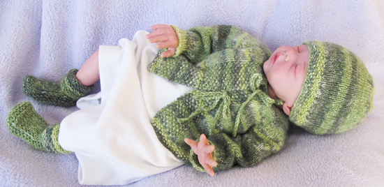 121 Newborn Layette Knitting Pure And Simple