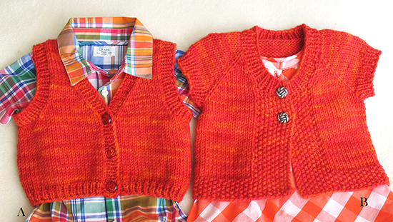Knitted Baby Vest Patterns Free : # 1301   Baby vests Knitting Pure And Simple