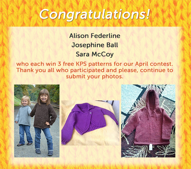 April photo contest winners