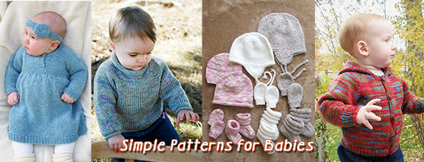 warm weather knitting patterns for babies during the summer