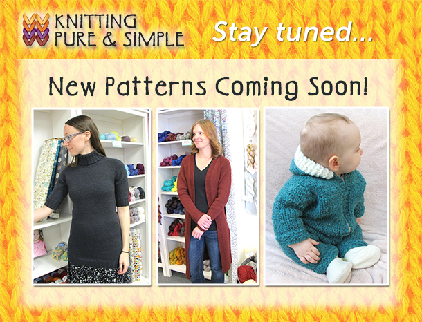 new knit patterns coming soon
