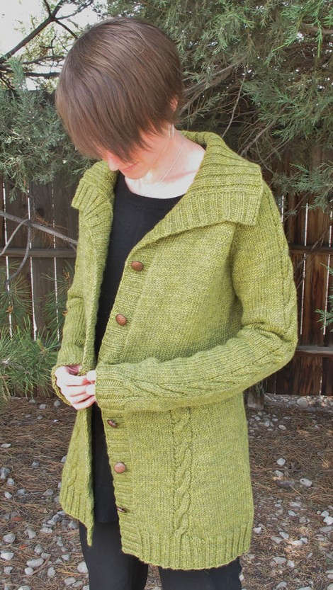 Knitting Pure And Simple Pattern Errata : # 1504 Women s Top Down Cable Cardigan   COMING SOON ...