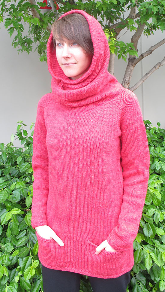 e7400ecf27b483 1507 – Cowl Hoodie. Categories  Newest Patterns