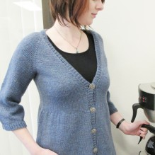 # 118 Swing V Neck Cardigan