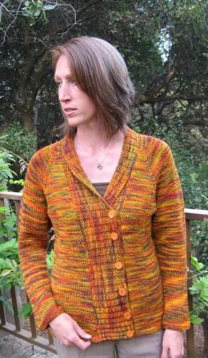 298 shawl collar cardi