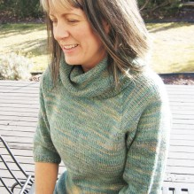 #291 Neck Down Cowl 