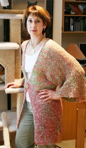 # 282 Kimono Style Cardigan Knitting Pure And Simple