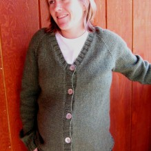 # 274 Top Down V Neck Maternity Cardigan
