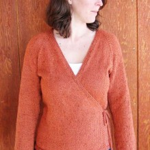 # 263 Neck Down Wrap Cardigan