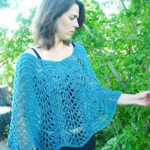 # 251 Easy Lace Poncho