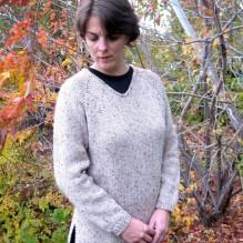 # 996 Bulky V Neck Pullover