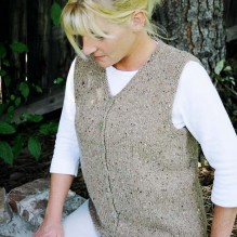 # 995 Cardigan Vest for Women