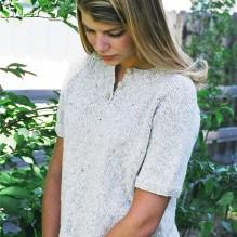 # 9727 Henley T Shirt for Women
