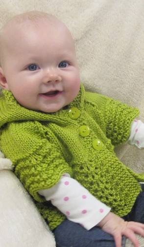 # 1505 Lacy Baby Hoodie