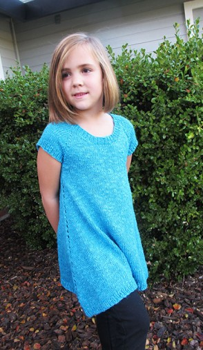 # 1502 Girls Trapeze Tunic