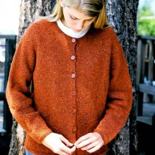 # 9725 Neck Down Cardigan for Women