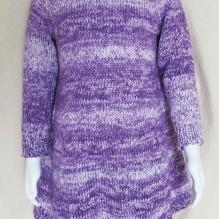 # 1701 Girl's A- line Dress