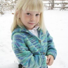 # 981 Children's Neck Down Cardigan