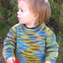 # 295 Bulky Baby Pullover