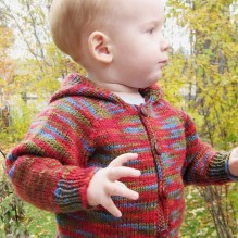 # 982 Baby's Neck Down Cardigan