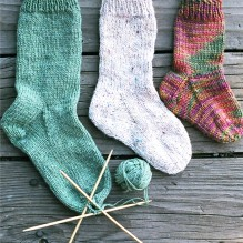 # 203 Easy Children's Sock