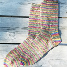 # 216 Beginner's Lightweight Socks