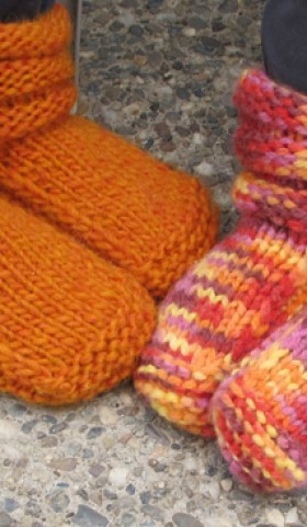 113 Childrens Mukluk Slippers Knitting Pure And Simple