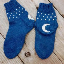 Moonlight Slippersock
