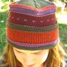 Simple Fair Isle Hat