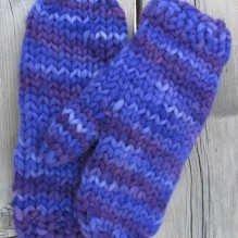 Super Bulky Mittens for Women