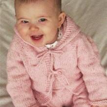 Easy Baby Cardigan