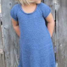 # 122 – Little Girls Top Down Dress