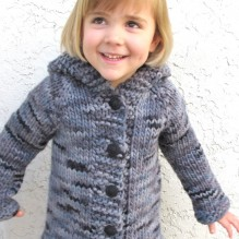 # 126 – Children's Bulky Top Down Coat
