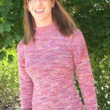 # 129 – Top Down Lightweight Pullover