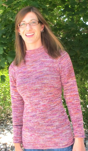 Lightweight knitted sweater